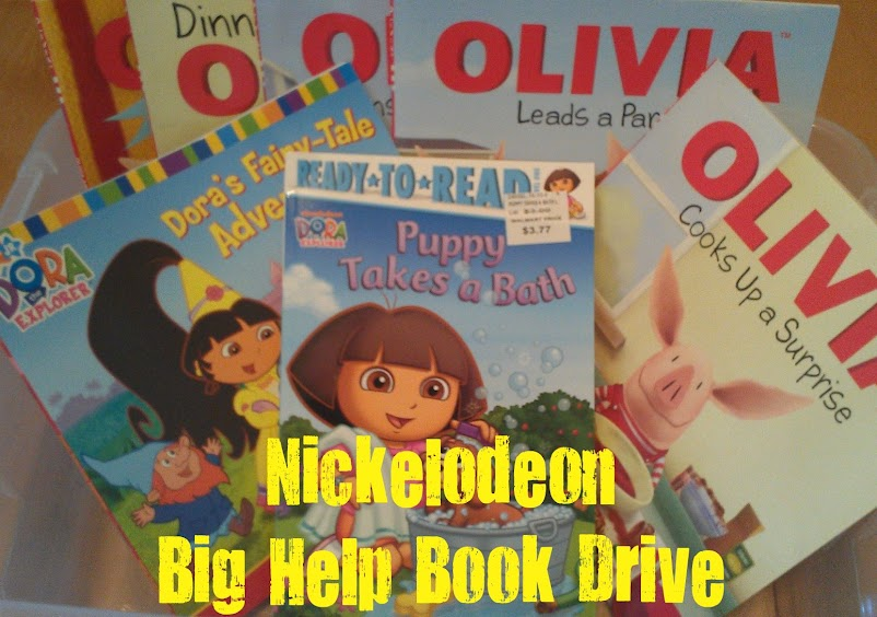 SIMPLE Service Project - collecting books for kids! #NickCFK