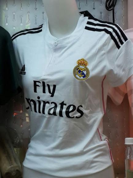 Jual Jersey Cewek Real Madrid Home 2014 - 2015