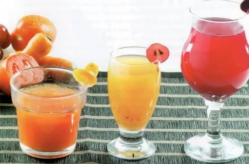 Aneka jus buah untuk tekanan darah rendah