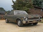 1970 CHEVY NOVA SURVIVOR 2 DOOR 6CLY 4 SPD BIG 10 REAR SLEEPER PROJECT HOT ROD