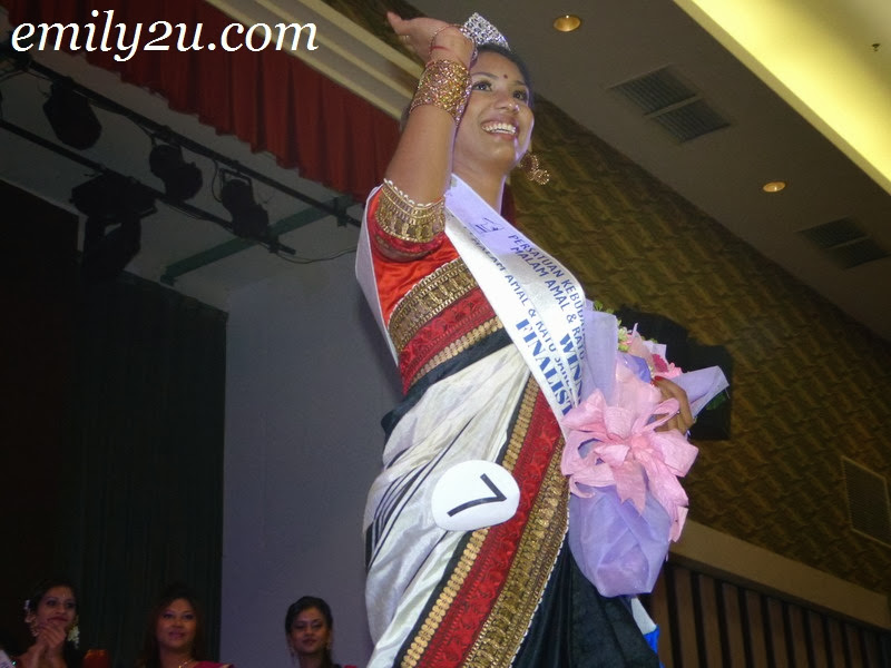 Miss Perak Saree Queen
