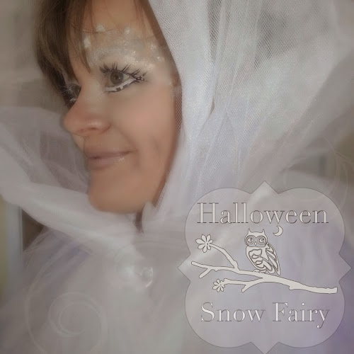 Halloween snow fairy makeup