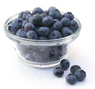 blueberry, makanan otak