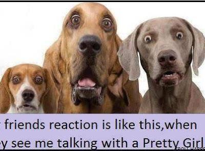 Friends reaction..!!
