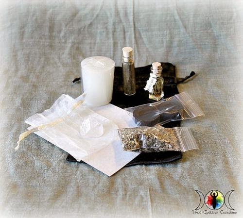 Spirit Call Spell Kit Call The Spirit Realm Find Your Spirit Guide By Inkedgoddess