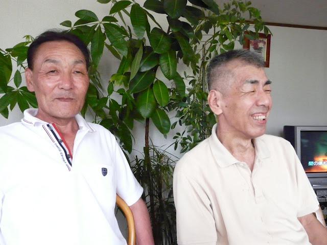 飯田さん、信治さん、笑顔です