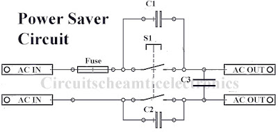 Simple power saver circuit