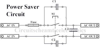 Simple power saver circuit