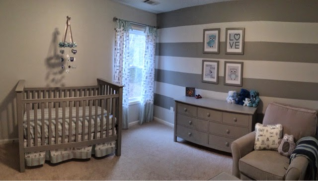 Baby Ciak S Owl Themed Nursery