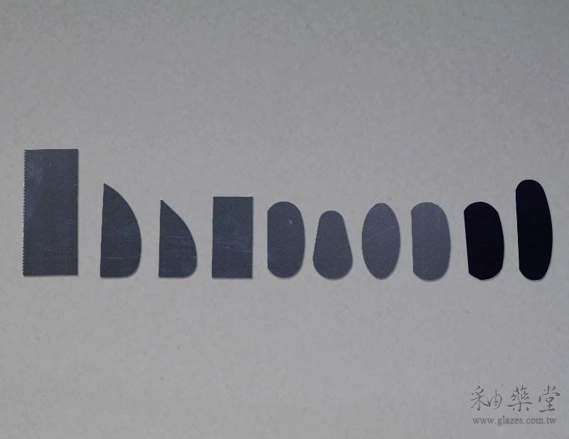陶藝工具G1-00-A 刮片組(10片1套)
