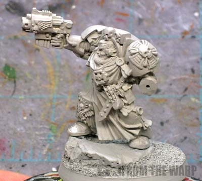 Space Marine Terminator Captain primed
