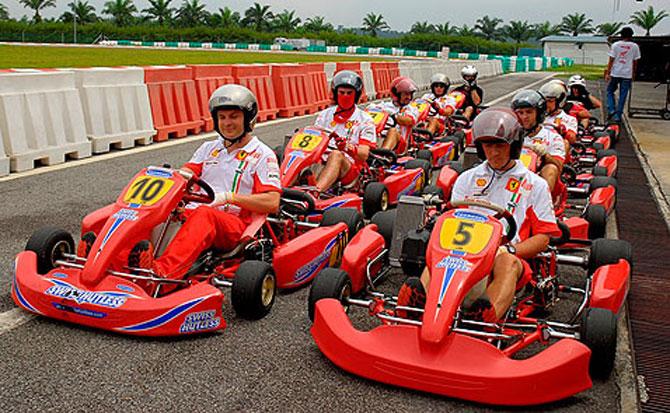 go kart sepang circuit malaysia