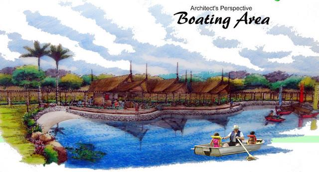 Amiya Resort Residences Boating Area
