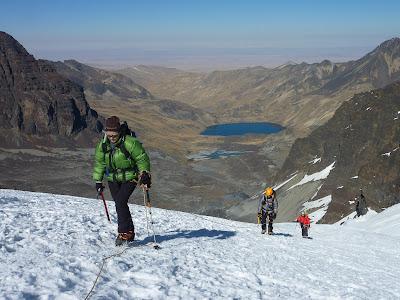 Progressant per la glacera