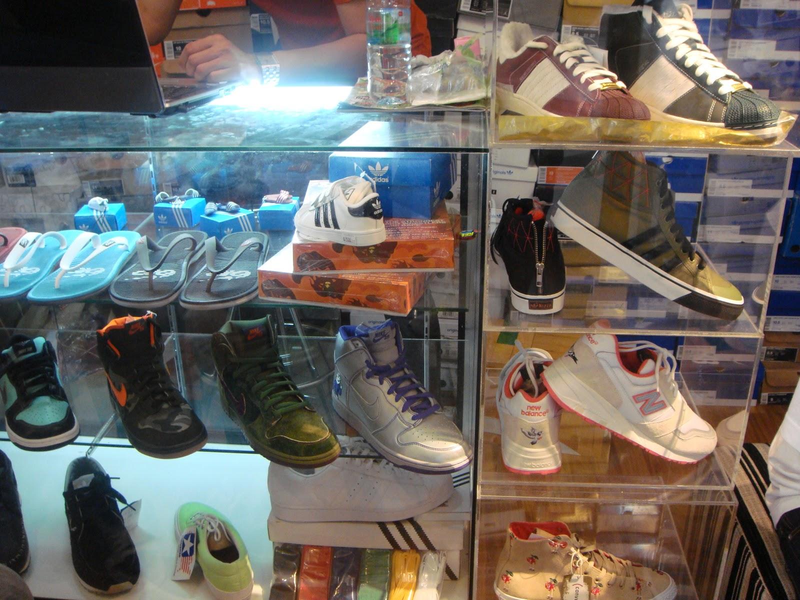 4248c940ae Bangkok - part 3 - sneaker store hunting in Siam Square
