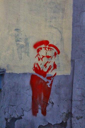 Interesting street art - Irkutsk, Russia