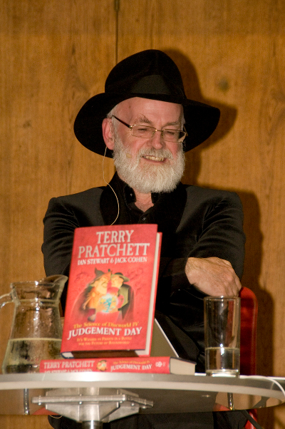 Terry Pratchett w Conway Hall