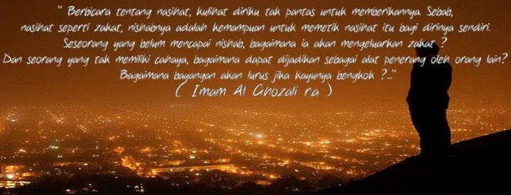 Senandung Qalbu Renungan Diri Sang Imam Al Ghazali R A