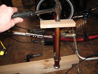 Installation d'une suspension avant sur un ICE Q Img_2681