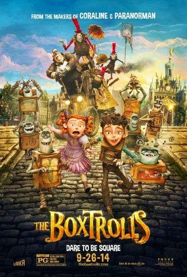 Poster Of The Boxtrolls (2014) Full Movie Hindi Dubbed Free Download Watch Online At alldownloads4u.com