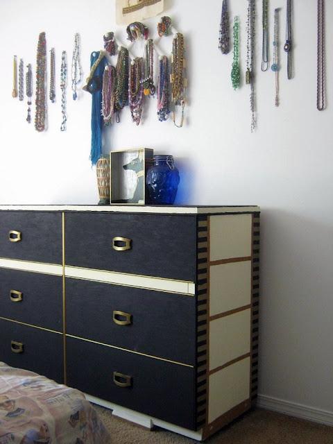 Egyptian Inspired Dresser
