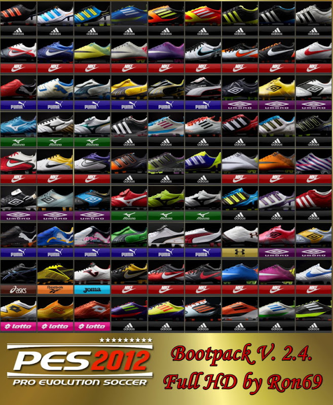 BootPack Version 2.4 - PES 2012