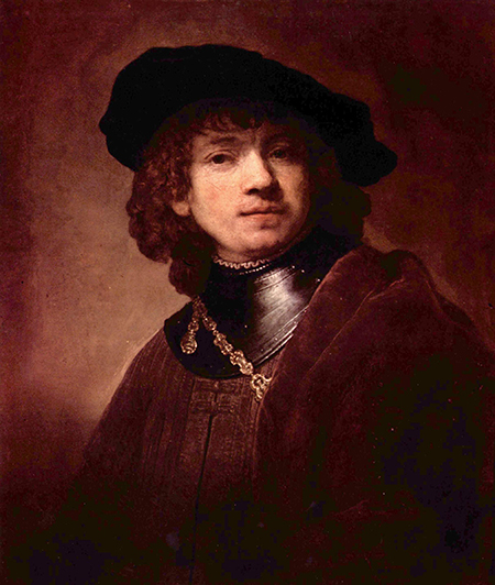 Rembrandt van Rijn Autoportret Rembrandt van Rijn