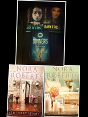 Kiss of Frost Dark Frost Jennifer Estep Diviners Libba Bray The Next Always The Last Boyfriend Nora Roberts