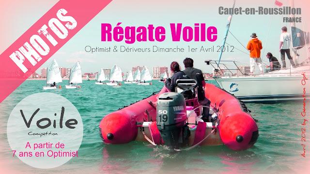 Voile Canet_en_Roussillon Régate Optimist Laser