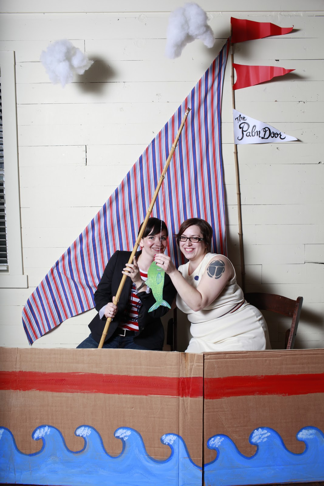 Palm Door Sail Boat Photo Booth