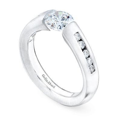 Tension Wedding Ring 14 Inspirational Tension Setting Ring Gelin