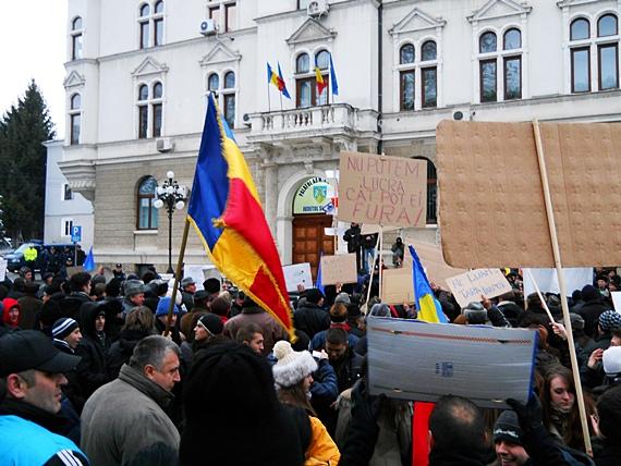 Protest Suceava joi 19 ianuarie