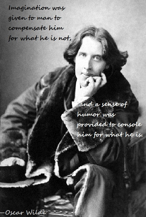 Imagination - Oscar Wilde quote