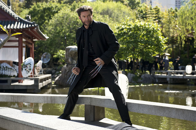 The Wolverine Fight Yashida's funeral Hugh Jackman