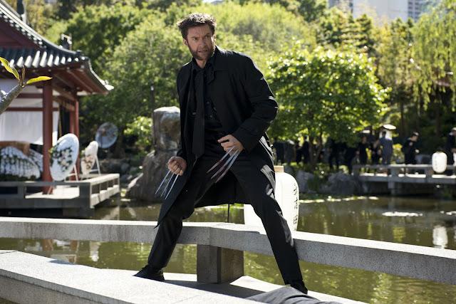 The Wolverine Fight Yashida's funeral Hugh Jackman