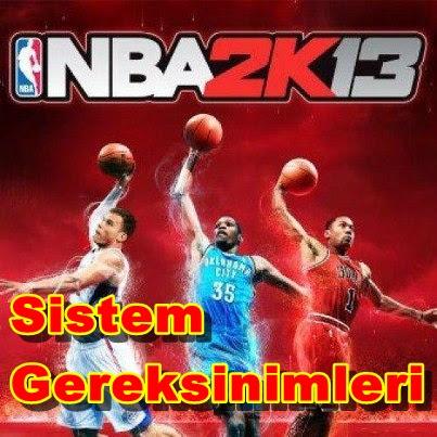 NBA 2K13 PC Sistem Gereksinimleri