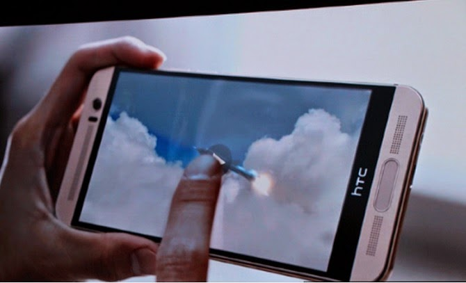 HTC One M9 Plus chính thức ra mắt: màn hình Quad HD 5,2 inch, có quét vân tay, camera kép