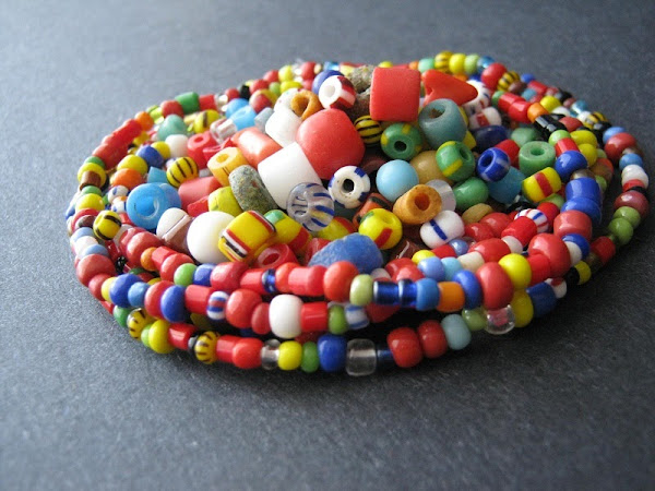 African Christmas Beads