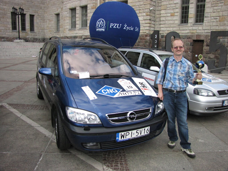 VII Supertest Ekonomii 2010 - wygrana Opel Zafira A CNG