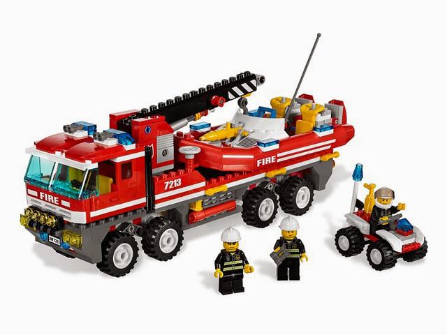 7213 レゴ オフロード消防自動車と消防艇