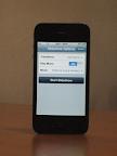 Slideshow settings on iPhone using Aerodrom.