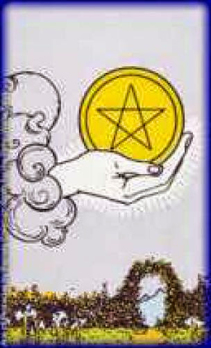 Ace Of Pentacles A Shield Against Your Worst Enemy