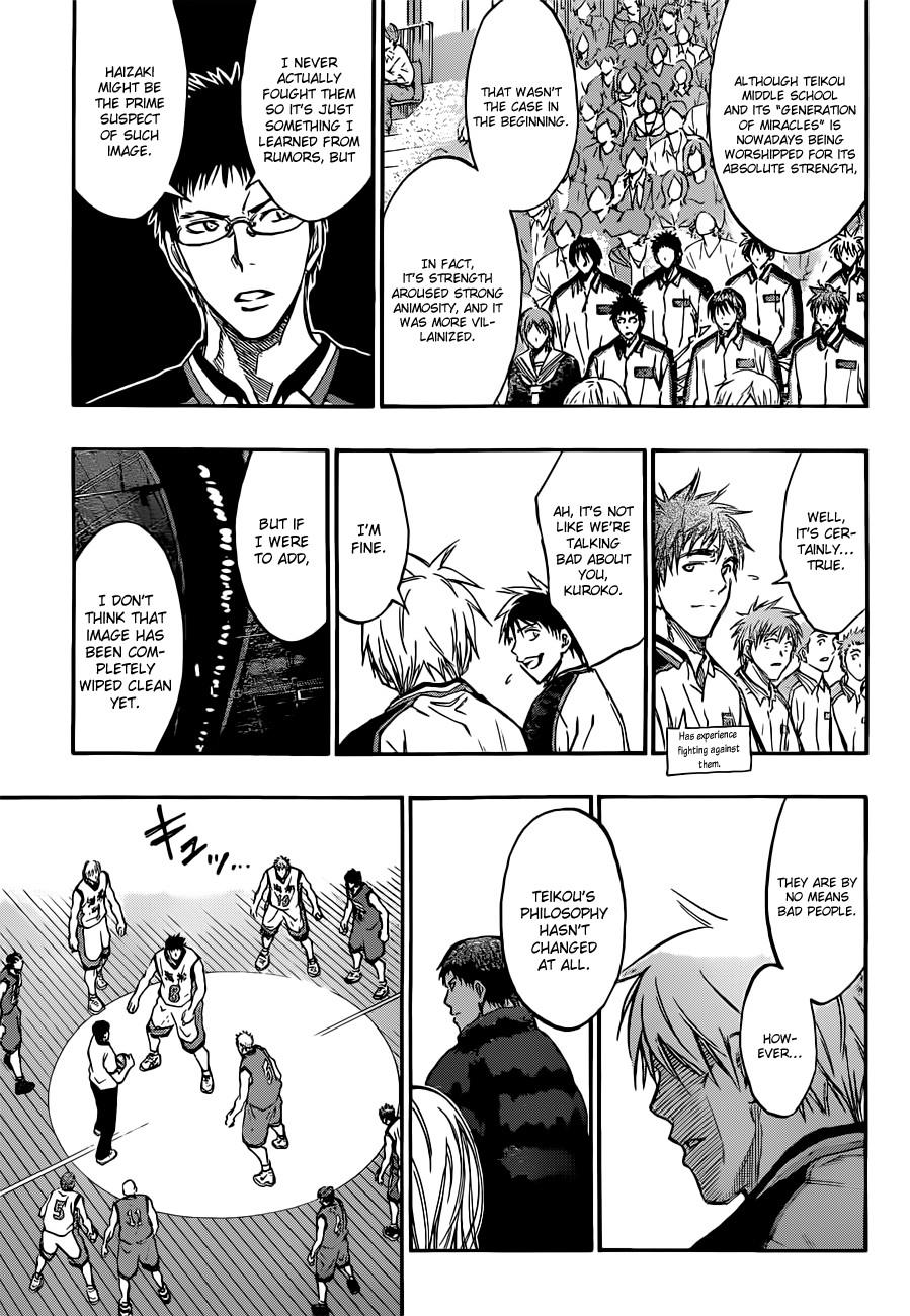 Kuroko no Basket Manga Chapter 171 - Image 05