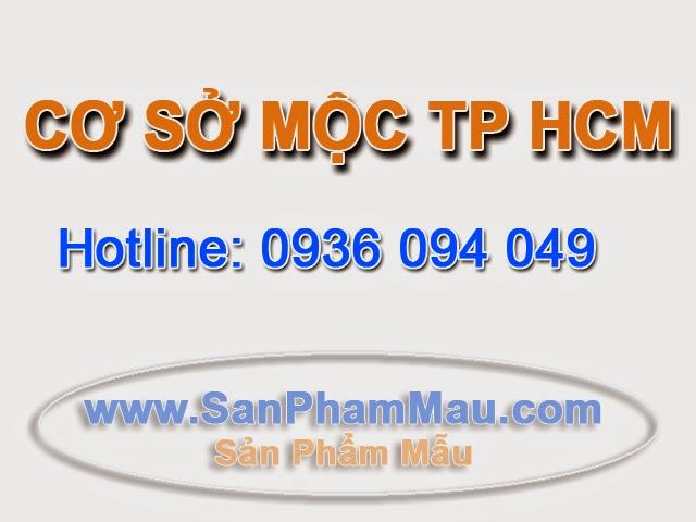 Cơ sở mộc ở TP HCM
