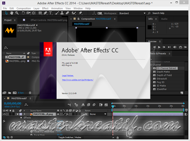 Adobe After Effects CC 2014.2 Full Crack | MASTERkreatif