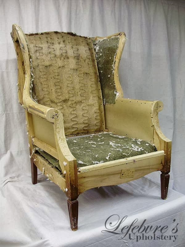 Lefebvre S Upholstery My Furniture Is Stuffed With What