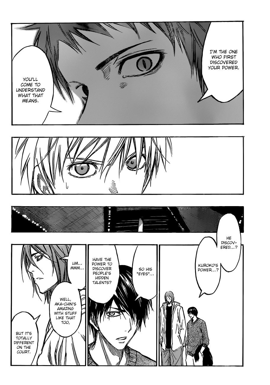 Kuroko no Basket Manga Chapter 178 - Image 10