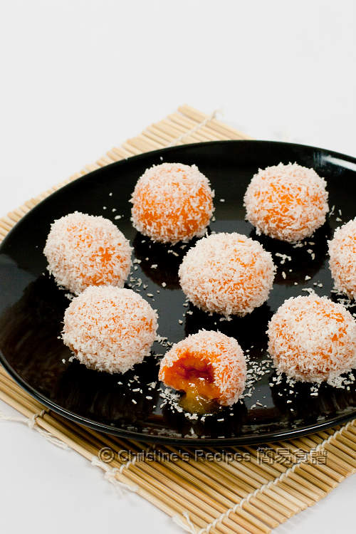 番薯流心湯圓 Sweet Potato Glutinous Rice Balls