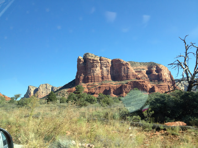 Sedona from car