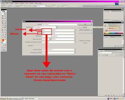 Modificando o blog 2, cabeçalho, superpoint